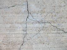 Cracked concrete 2 Stock Image