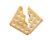 Cracked Cracker Stock Photography