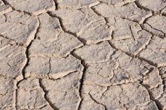 Cracked Dead Sea bottom Stock Photo