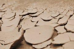 Cracked Desert Background Texture Stock Photography