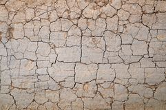 Cracked dirt road Royalty Free Stock Photography
