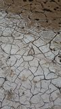 Cracked drought Royalty Free Stock Images