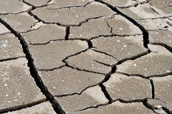 Cracked, dry earth Royalty Free Stock Photo
