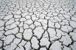 Cracked dry earth Stock Photos