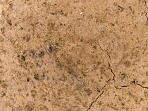 Cracked and dry earth Stock Photography