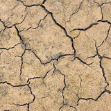 Cracked dry earth Stock Images