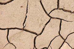 Cracked dry earth drought concept background Royalty Free Stock Image