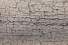 Cracked dry ground Stock Photos