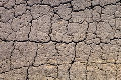 Cracked dry ground Stock Photo