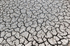 Cracked dry land without water. Background Stock Photo