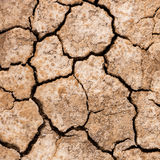 Cracked dry mud drought concept nature background Royalty Free Stock Photography