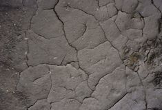Cracked dry mud earth background texture stock image