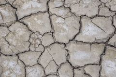 Cracked and dry soil ground royalty free stock image