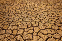 Cracked Earth. Cracked earth in desert, global warming stock photos