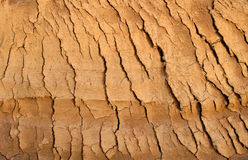 Cracked earth 2 Stock Images