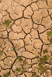 Cracked Earth Royalty Free Stock Photography