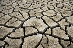 Cracked earth background, clay desert texture Royalty Free Stock Photo
