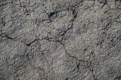 Cracked earth background or texture Stock Photography