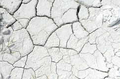 Cracked earth - chalk ground Stock Photo
