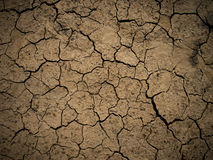 Cracked Earth. Close up in brown colors Stock Photo
