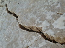 Cracked Earth, Dead Sea Jordan Royalty Free Stock Photo