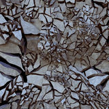 Cracked earth. Illustrate of a cracked earth,,background Royalty Free Stock Image