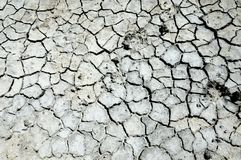 Cracked earth. saline, salt-marsh. texture. Land prone to erosion royalty free stock photo