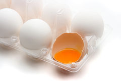 Cracked Egg Royalty Free Stock Photos