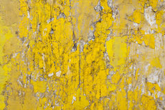 Cracked flaking paint on wall, background texture Stock Photography