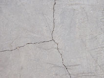Cracked floor texture Stock Image