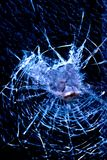 Cracked glass Royalty Free Stock Images