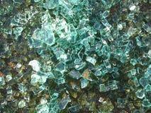 Cracked glass background. Digital macro, vivid Royalty Free Stock Photography