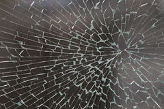 Cracked glass Royalty Free Stock Photo