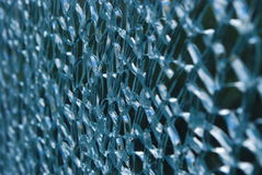 Cracked glass Stock Photos