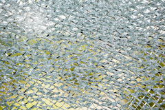 An cracked glass Royalty Free Stock Images