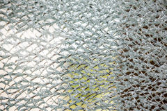 An cracked glass Royalty Free Stock Photo