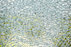 An cracked glass Royalty Free Stock Photos
