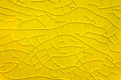 Cracked glazed tile Royalty Free Stock Image