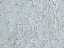 Cracked gray paint texture Stock Photo