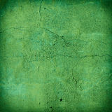 Cracked green concrete wall texture Royalty Free Stock Image