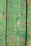 Cracked green paint background Stock Photos