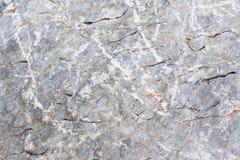 Cracked grey stone background Stock Image