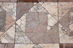 Cracked grey and white marble Royalty Free Stock Photo