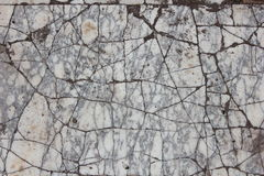 Cracked grey and white marble Stock Images