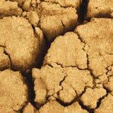 Cracked ground. Macro photo of cracked ground royalty free stock image