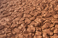 Cracked Ground. South of Thailand Royalty Free Stock Photos