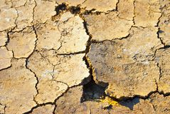 Cracked ground Royalty Free Stock Images
