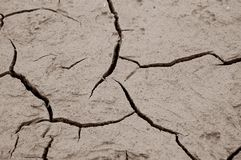 Cracked ground. Ideal as background stock photography
