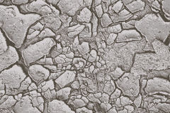 Cracked ground. Cracked earth vector pattern background stock illustration