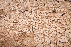 Cracked ground backgroun, dry land Royalty Free Stock Photo